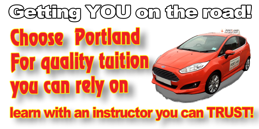 Driving lessons with Portland Driving School